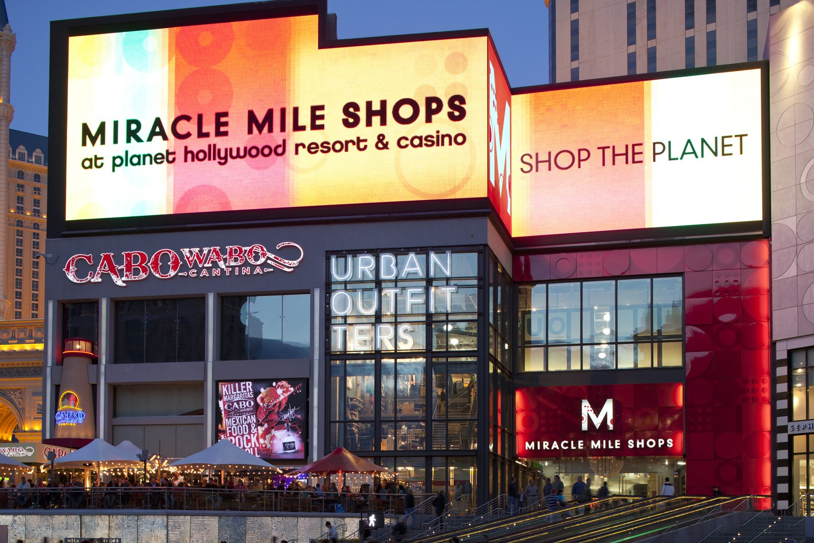 Miracle Mile Shops | Things to Do in Las Vegas at Planet Hollywood