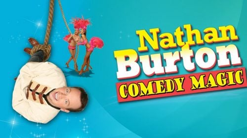Nathan Burton Las Vegas Comedy Magic Show