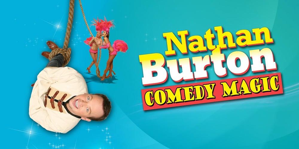 Nathan Burton Las Vegas Comedy Magic Show