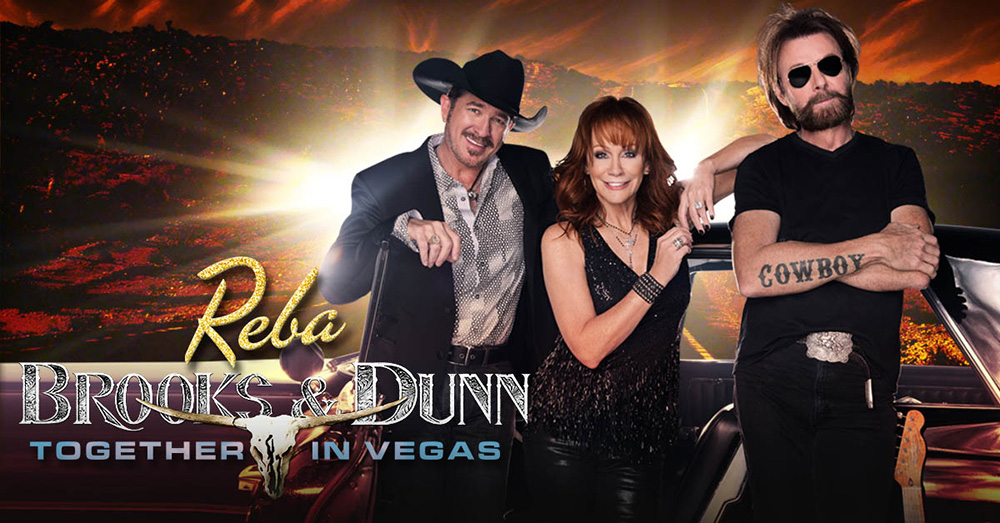 Reba, Brooks and Dunn - Las Vegas Headliner
