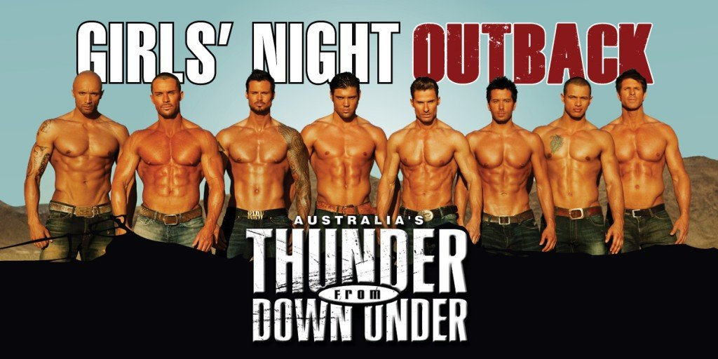 Thunder from Downunder | Things to Do in Las Vegas for Girl's Night