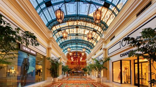 Shopping at The Bellagio Las Vegas