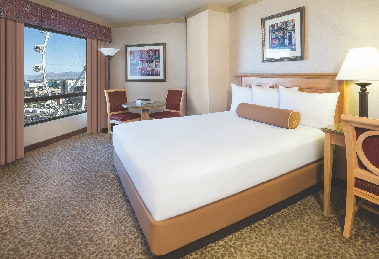 Harrah S Las Vegas High Roller View Room