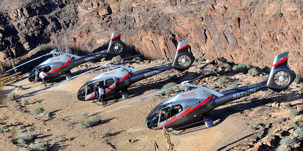 VIP Grand Canyon Helicopter Flight with Floor Landing