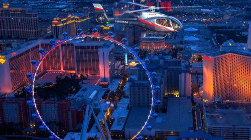 Las Vegas Helicopter Tour with Transportation