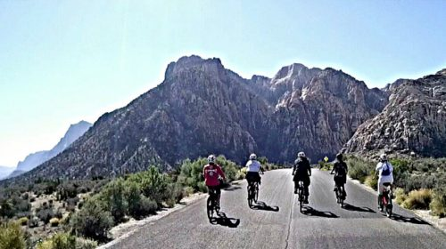 Guided or Self-Guided 4-hour bike tour to Red Rock Canyon