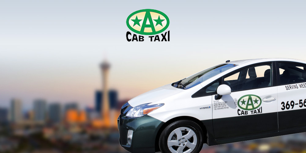 A Cab Taxi - Transportation in Las Vegas
