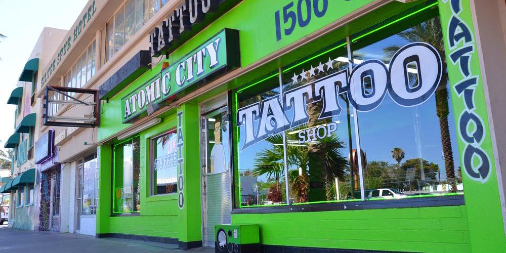 Atomic City Tattoos Las Vegas Things To Do In Las Vegas