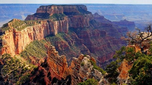Grand Canyon South Rim Bus Tour With Overnight Stay