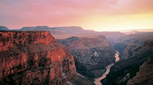 Grand Canyon Helicopter Flight at Sunset with Limo