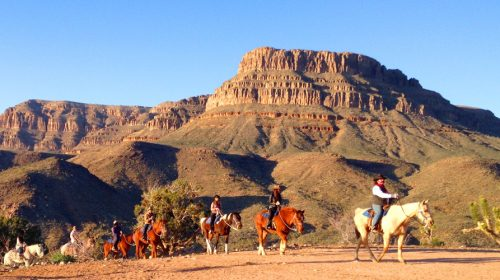 All Day Horseback Riding In Red Rock Canyon