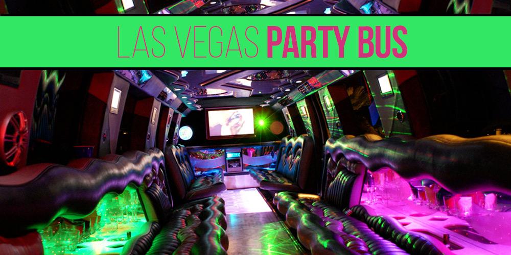 Las Vegas Party Bus | Giant Party on Wheels