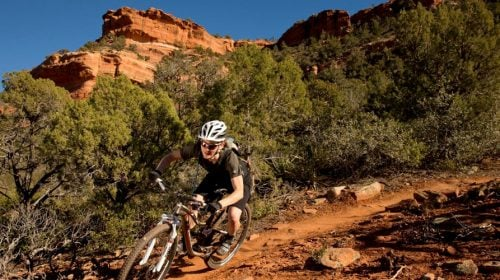 Mountain Biking Bootleg Canyon