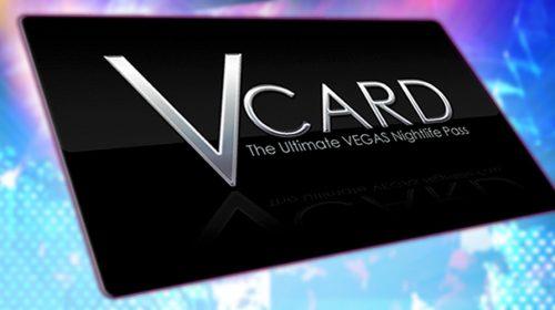 V Card: The Las Vegas Nightclub Pass