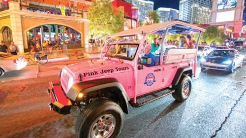 Las Vegas Bright Lights City Jeep Tour