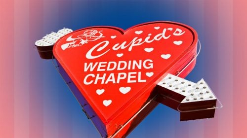 Cupid's Wedding Chapel Las Vegas