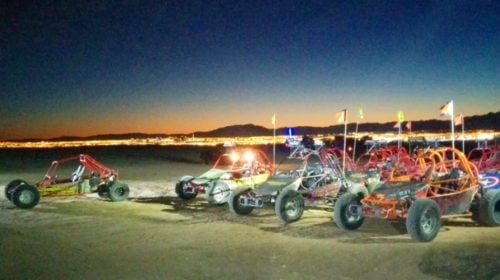 Las Vegas Mini Baja Chase Off Road Experience at Night