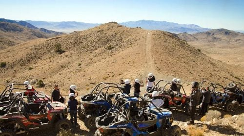POLARIS RZR UTV DESERT TOUR
