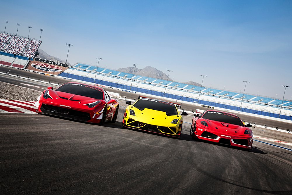 Dream racing driving experience things to do in las vegas for Las vegas motor speedway driving experience