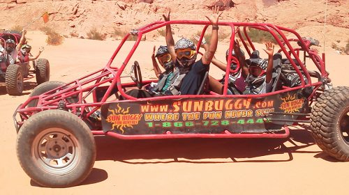 Las Vegas Sun Buggy Off Road Experience