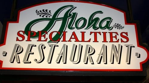 Aloha Specialties at California