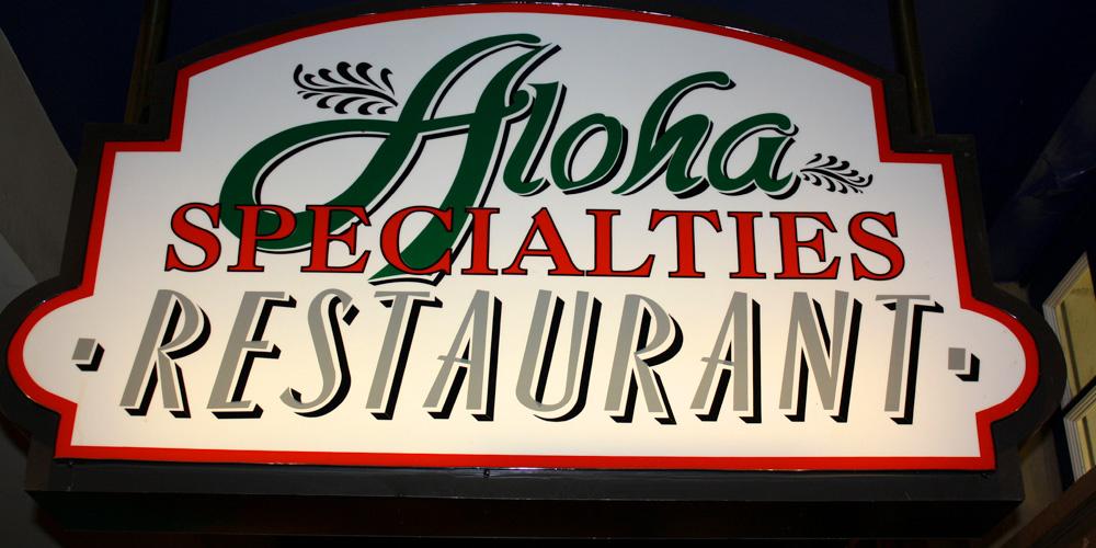 Aloha Specialties at California