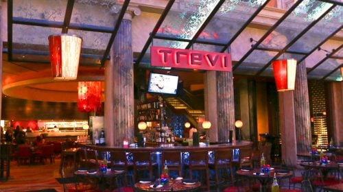 Bar at Trevi in Caesars Palace