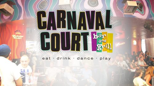 Carnaval Court at Harrah's | Outdoor Bar & Grill