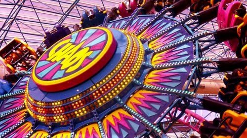 "Ride the ""Chaos"" at the Adventuredome in Las Vegas"