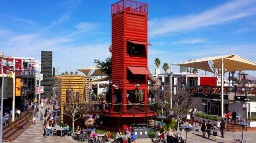 Downtown Container Park is a Must-Visit in Las Vegas