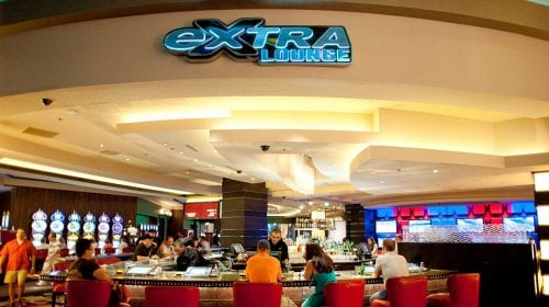 EXTRA Lounge at Planet Hollywood