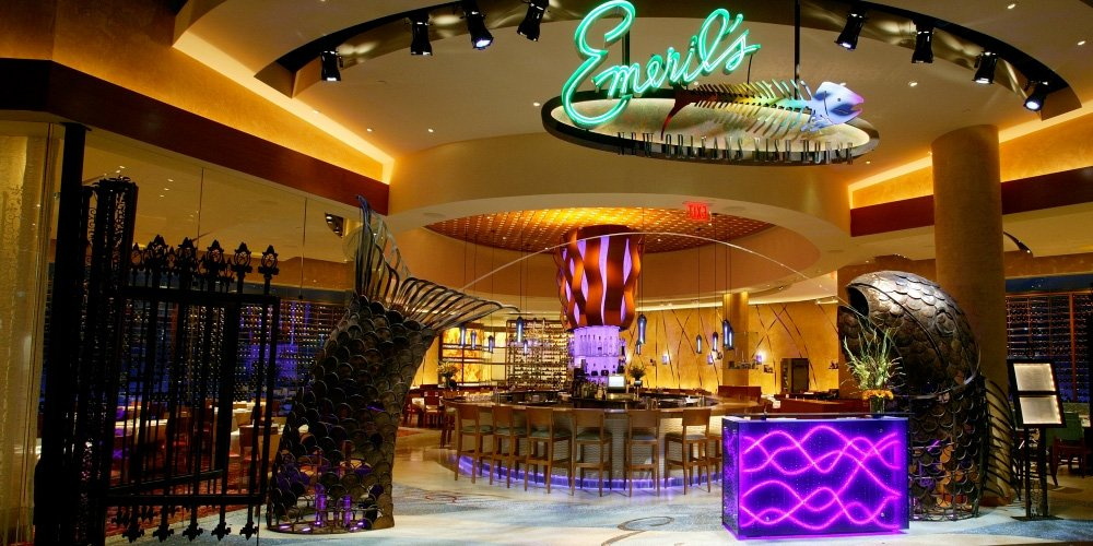 Emeril 39 s new orleans fish house at the mgm grand for New orleans fish house