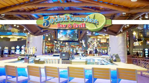 Margaritaville Five O'Clock Somewhere Bar at Flamingo