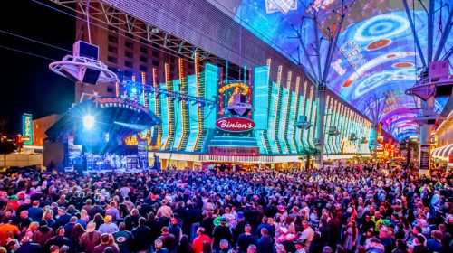 Check Out the Famed Fremont Street Experience in Las Vegas