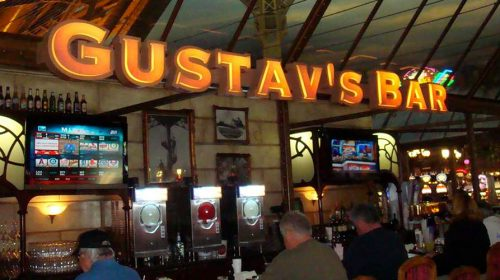 Gustav's Casino Bar | Paris