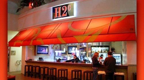 H20 Bar at the Tank at Golden Nugget
