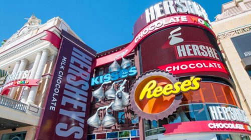 Hershey's Chocolate World at New York, New York
