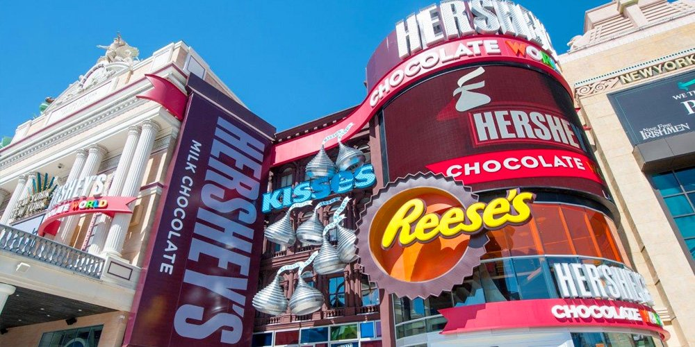Hershey 39 s chocolate world at new york new york for Activities to do in ny