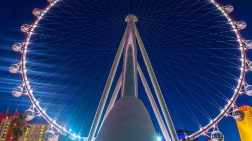 Take a High Roller Night Tour at the LINQ in Las Vegas