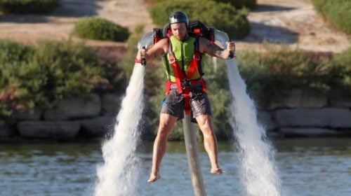 JETPACK experience AT LAKE LAS VEGAS