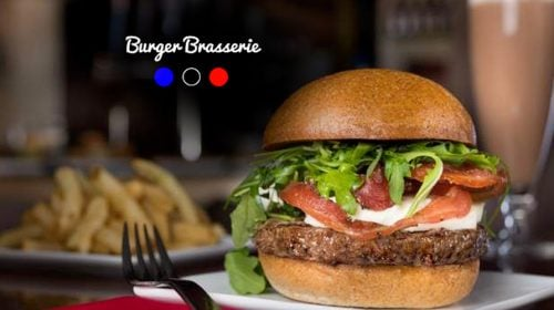 Le Burger Brasserie Bar at the Paris