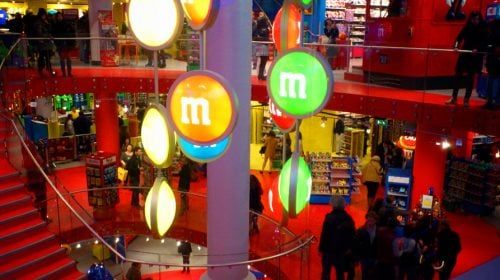 M&M'S World on The Las Vegas Strip