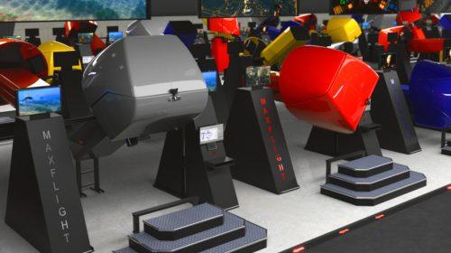 MaxFlight 2002 Virtual Roller Coaster