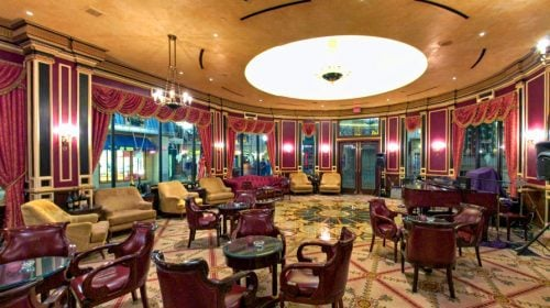 Napoleon's Lounge at Paris Las Vegas