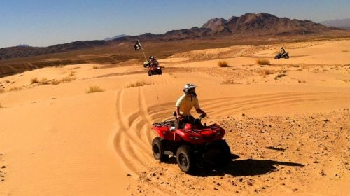 Experience a Thrilling Ride at Nellis Dunes Outisde Las Vegas