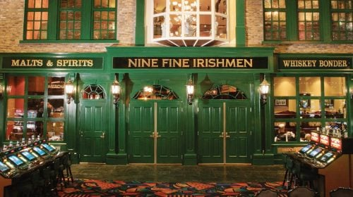 Nine Fine Irishmen at New York-New York
