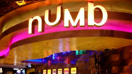Numb Bar & Frozen Cocktails at Caesars Palace