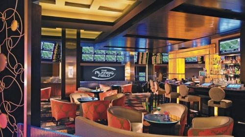 The Playing Field Lounge at Planet Hollywood