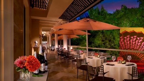 SW Veranda at Wynn