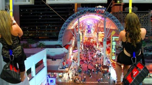 Check Out the SlotZilla Zipline in Downtown Las Vegas!